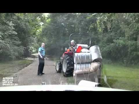 Pulling Keg Couch With Tractor While Drunk Not In Obamas