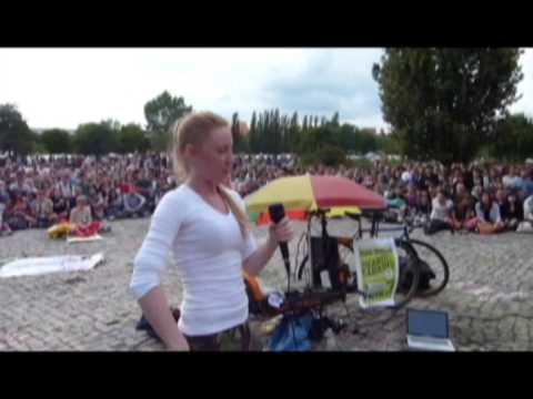 German girl sings American boy