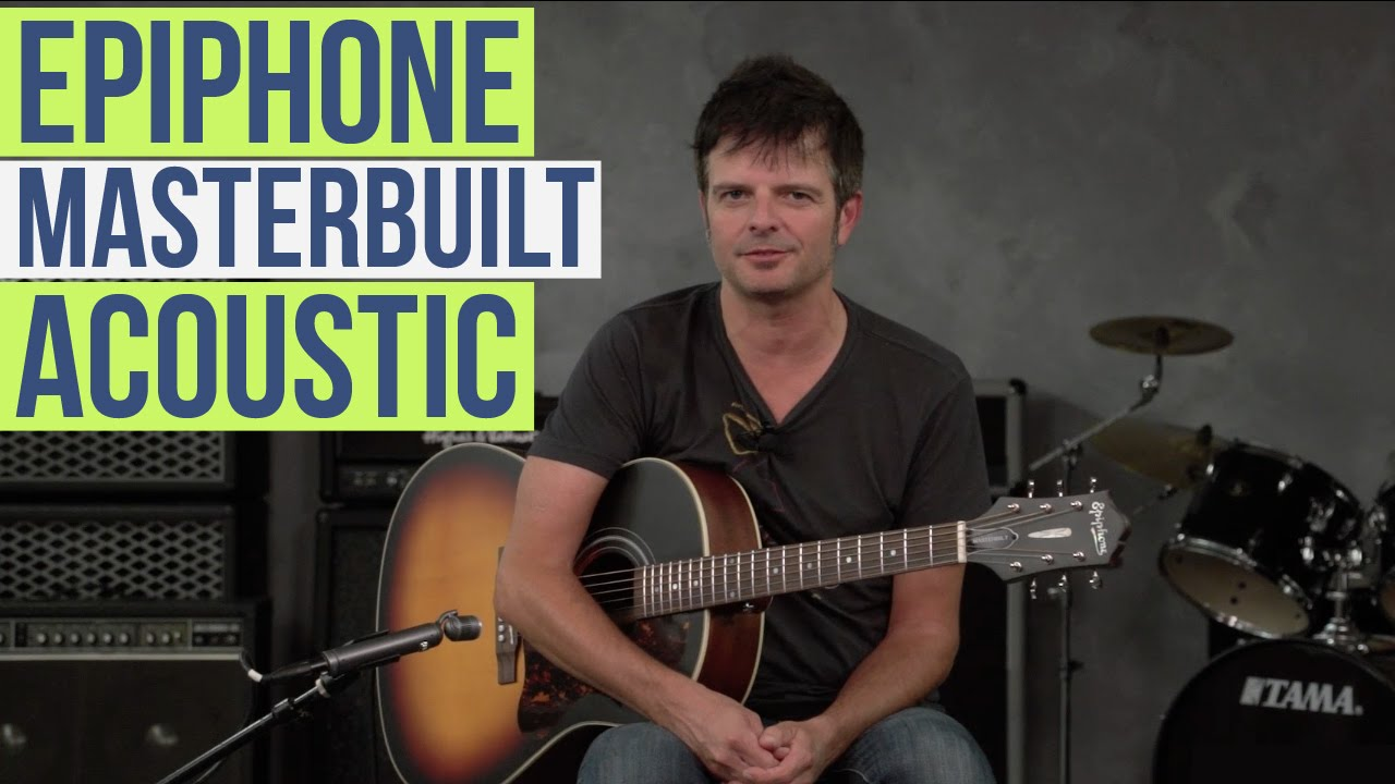epiphone masterbilt aj 45me acoustic youtube. Black Bedroom Furniture Sets. Home Design Ideas