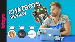 Crazy chatbots review: Mitsuku, Cleverbot, Jabberwacky. Part I
