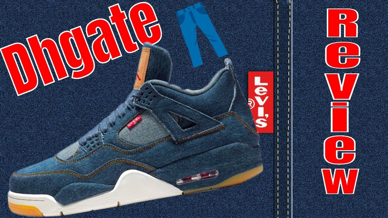 493ba5f186c18e 👖👖Dhgate LEVIS X Air Jordan 4 Review👖👖 - YouTube