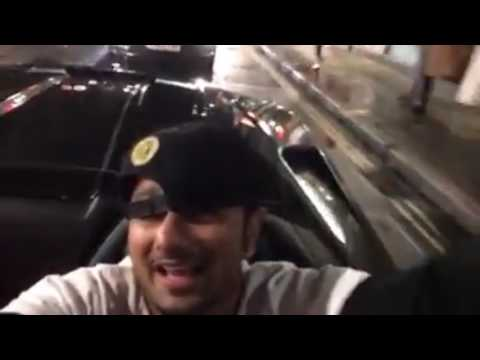 Yo Yo Honey singh riding In London