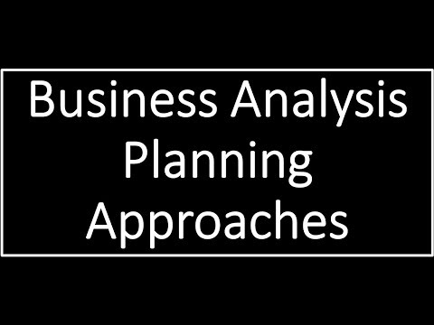 Business Analyst  BABoK V3 Plan approach | Adaptive US