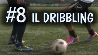 Calcio - come È fatto un dribbling - fondamentale #8