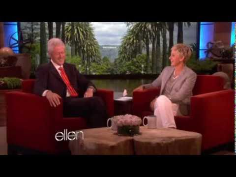 Bill Clinton Speaks of the Health Benefits of a Vegan Diet in the Ellen Show