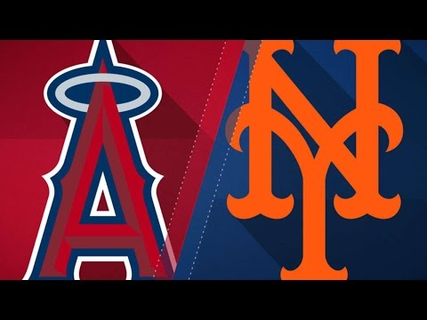 5/19/17: deGrom leads Mets in shutting out the Angels