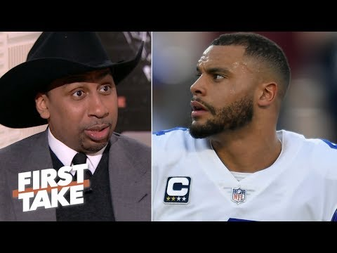 The Cowboys constantly invent new ways to lose - Stephen A. | First Take