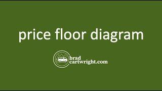 Price Floor Diagram  |  Price Controls  |  Government Intervention  |  Microeconomics