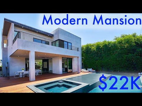 Los Angeles Rental Prices May Shock You!!! - Los Angeles Mansion Tour