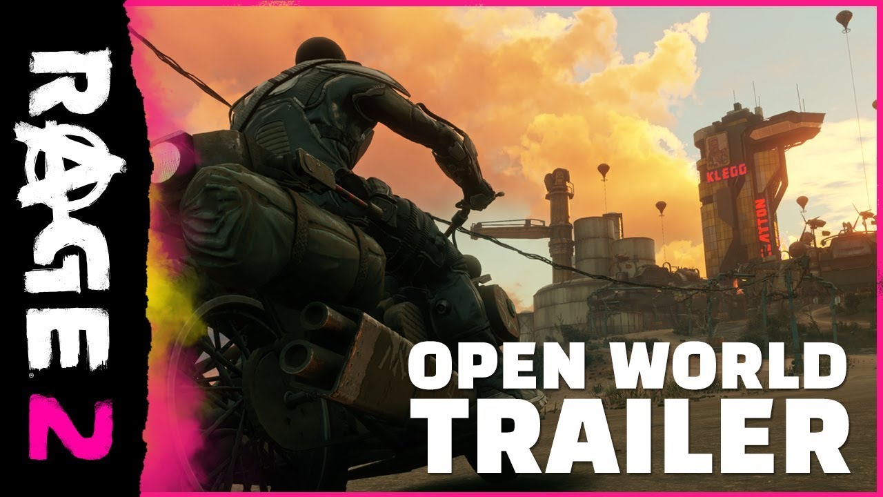 RAGE 2 - Open World Trailer