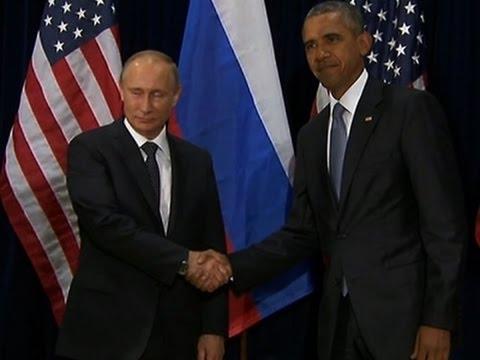 Obama, Putin Meet Amid Syria, Ukraine Tensions