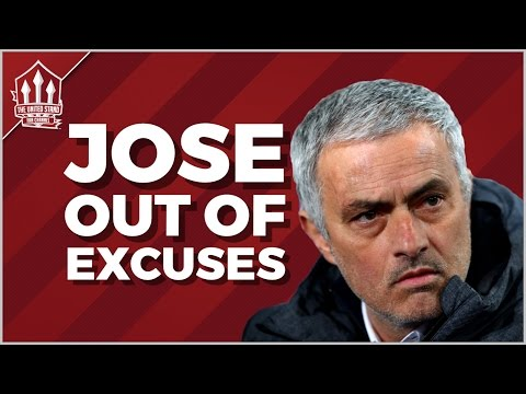MOURINHO Out Of Excuses? MAN UTD NEWS