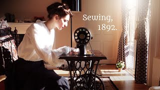 I bought a (Working!) Victorian Sewing Machine 😯 | 1892 Singer Treadle