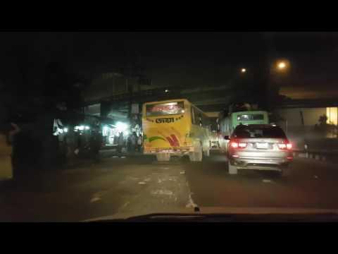 Bangladesh Chittagong - driving night time
