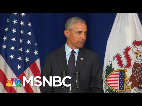 Tara Dowdell: Barack Obama Is Hero Gotham Needs Now, President Trump Is Like Bane  AM Joy  MSNBC