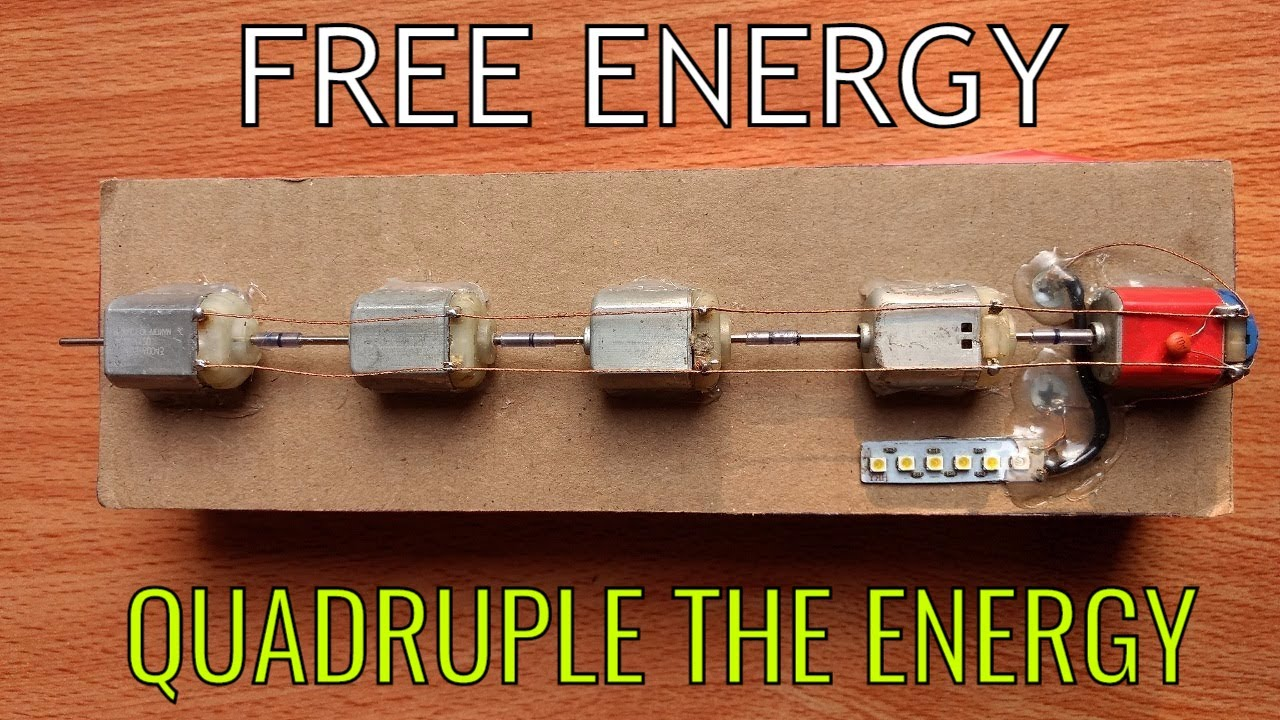 Uniquest Free Energy Generator | 100% Free Energy | The Most Satisfying Video..