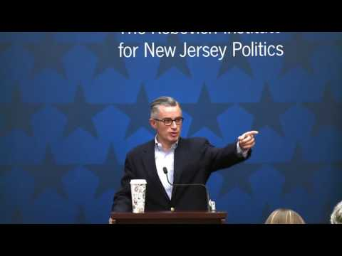 Hon. James E. McGreevey: Governing New Jersey Series - The Rebovich Institute for NJ Politics