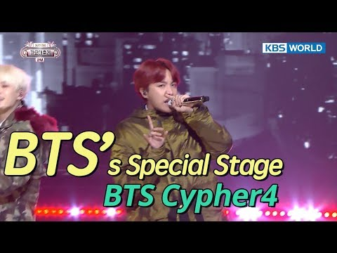 BTS's J-Hope, RM, SUGA - BTS Cypher4 [SUB: ENG/CHN/2017 KBS Song Festival(가요대축제)]