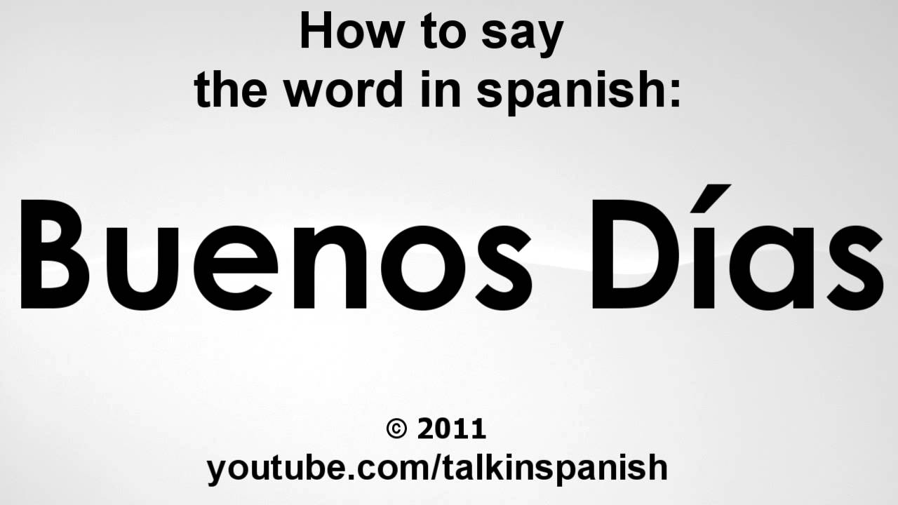 How Say Nasty Spanish