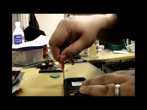 Blackberry torch 9860 9850 take apart tutorial