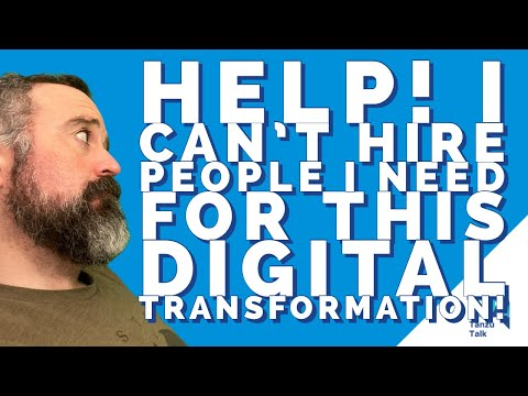 "Tanzu Talk: ""I can't hire the people I need for all this digital transformation"""