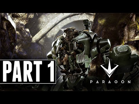 Let's Play Paragon Part 1 - HOWITZER! (Early Access Ps4 Gameplay 60FPS HD)