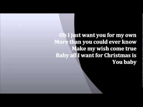 Justin Bieber - All I Want For Christmas Is You Karaoke ...