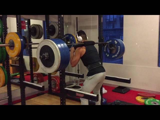 Coach: Jam - 150kg Squat (Double Bodyweight)