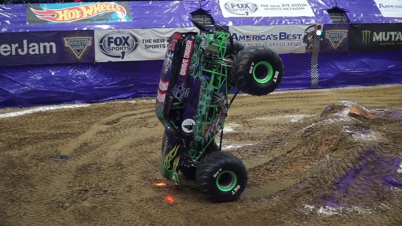 Monster Trucks Continue to Do Things That Look Downright Impossible