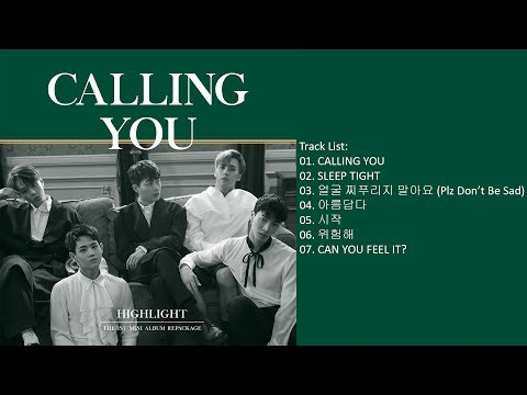 [Mini Album] Highlight – CALLING YOU [Repackage]