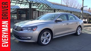Here's the 2014 Volkswagen Passat on Everyman Driver