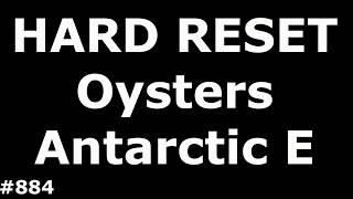 Скидання налаштувань устриці Е. жорсткий скидання устриці Антарктики Антарктики е
