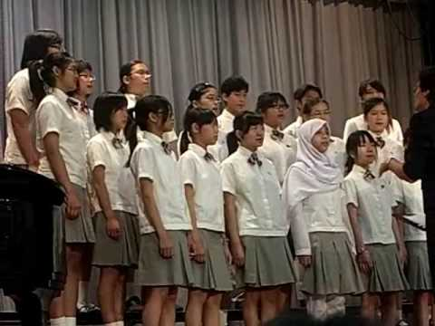 CSS choir singing a song from  the musical