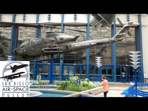 San Diego Air And Space Museum At Balboa Park In San Diego California