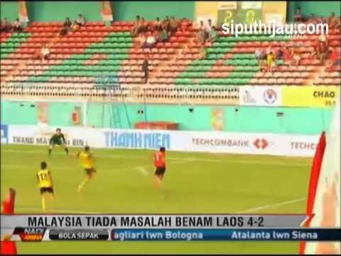 Malaysia u21 vs Laos u21 Vietnam Newspaper Cup 2012