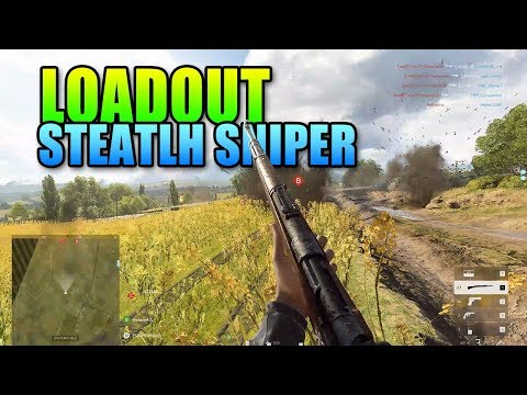 Loadout - Stealth Sniper Kar98k | Battlefield 5 Recon Gameplay