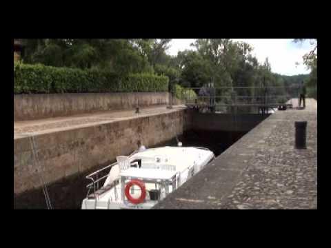 Lock, River Lot, France