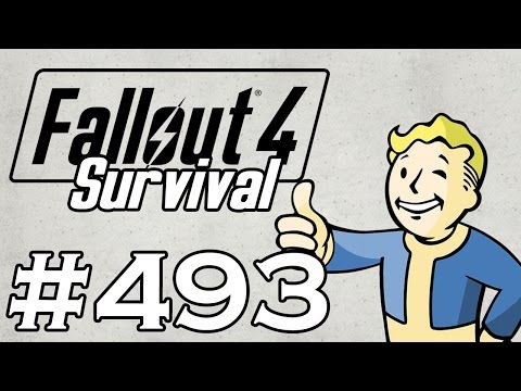 Let's Play Fallout 4 - [SURVIVAL - NO FAST TRAVEL] - Part 493 - Cambridge Police Station