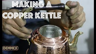 How DEMMEX Copper Teapot is Made & Cleaning Before First Use