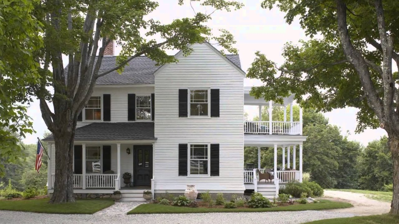 Country Home Exterior Color Schemes exterior decorating - how to choose the right paint color - youtube