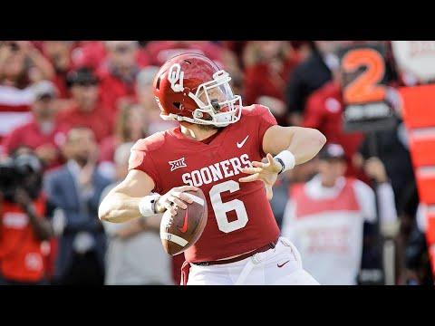Baker Mayfield 2017-18 Highlights || Oklahoma QB || ᴴᴰ