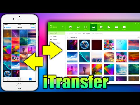 iTransfer An All-in-one Phone Manager - Transfer Music, Photos, Contacts Between iPhone and PC