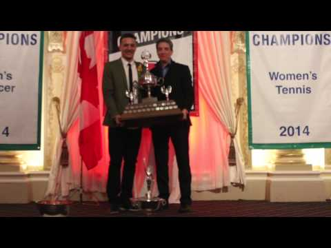 York Lions | 2015 Male Athlete of the Year nominees and acceptance speech