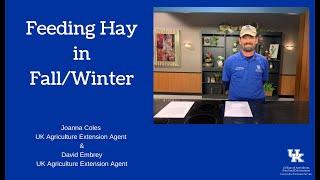 Feeding Hay in the FallWinter