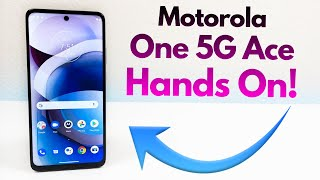 Motorola One 5G Ace - Hands On & First Impressions!