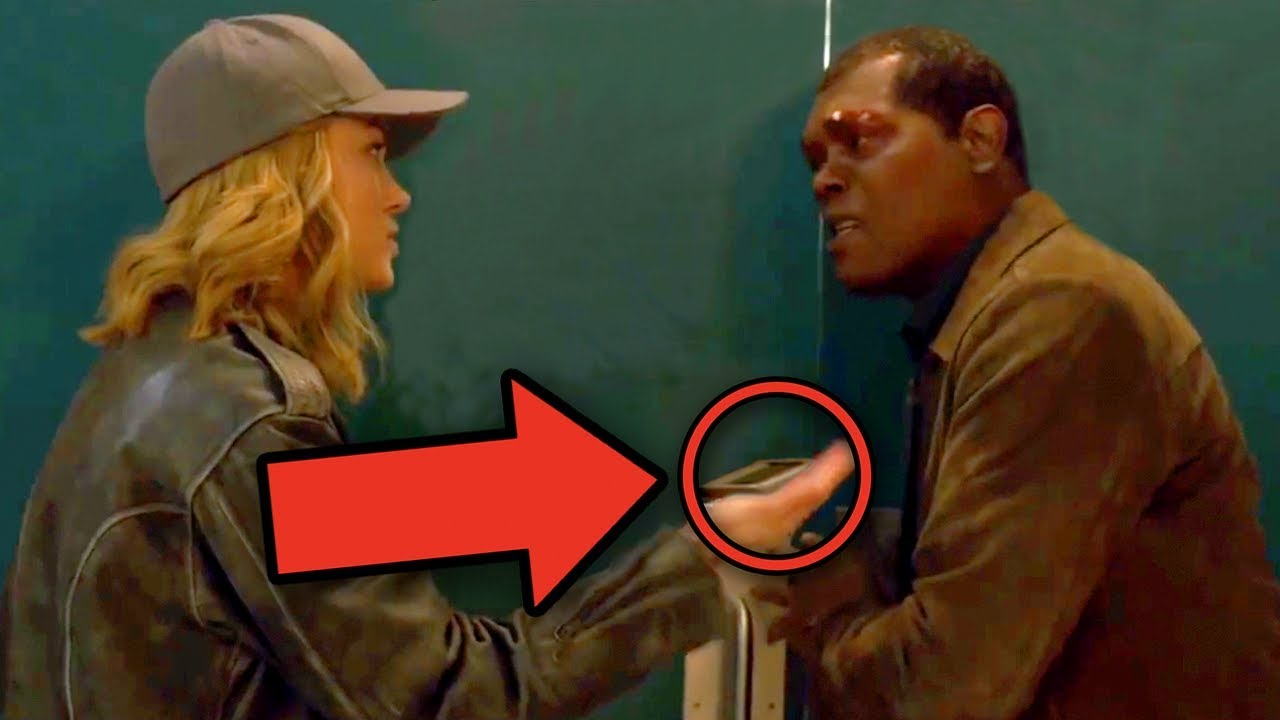 New Captain Marvel tease from the Super Bowl shows the boys who's boss