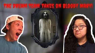 The Dream Team Takes On Bloody Mary!! | Roblox Horror Stories Halloween Countdown.