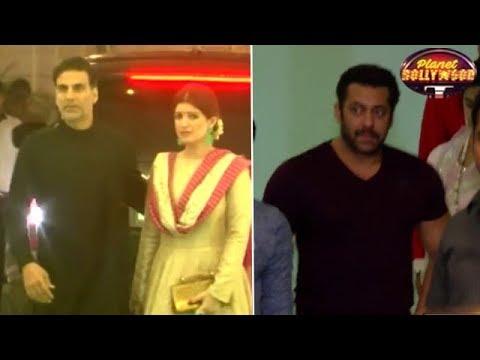 Akshay Kumar Chose To Skip Salman Khan's Diwali Party   Bollywood News
