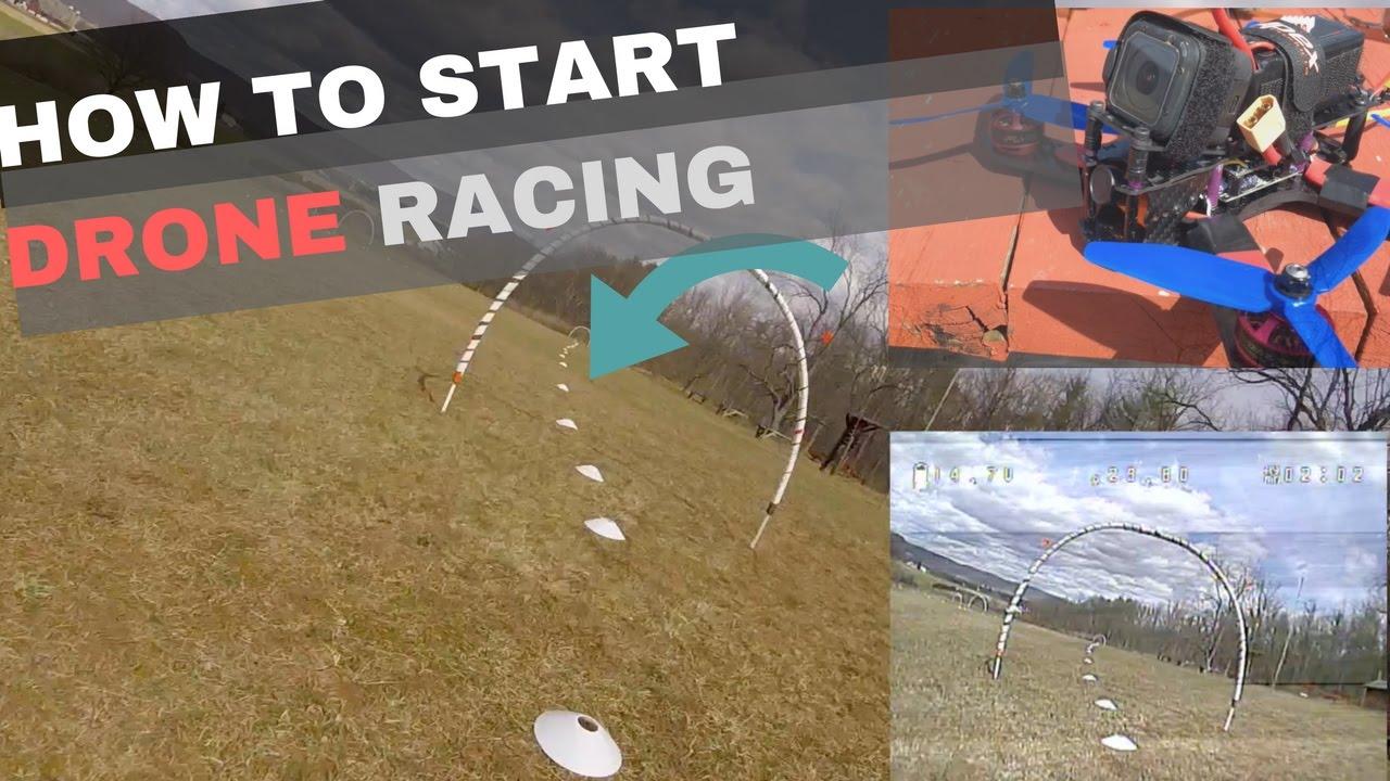 Drone Racing Track.