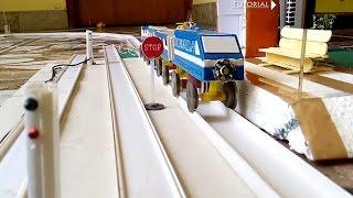 How to make a train tracks platform signal lights thumbnail